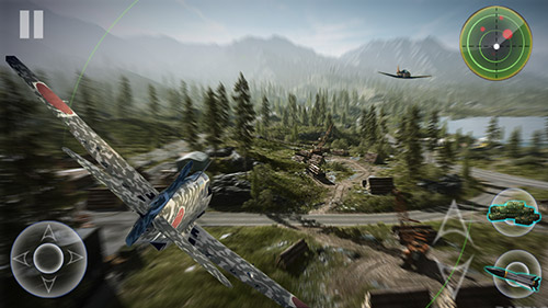 玩安卓版Air combat: War thunder。免费下载游戏。