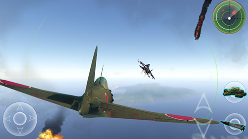 Screenshots do Air combat: War thunder - Perigoso para tablet e celular Android.