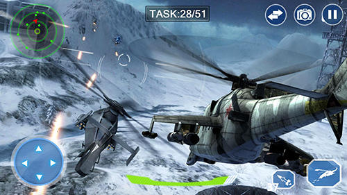 安卓平板、手机Air force lords: Free mobile gunship battle game截图。