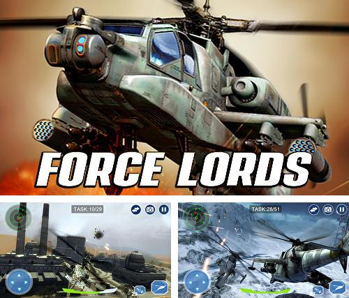En plus du jeu Détachement de combat  pour téléphones et tablettes Android, vous pouvez aussi télécharger gratuitement Lords des forces aériennes: Avion d'assaut, Air force lords: Free mobile gunship battle game.