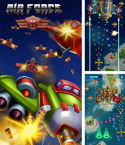 Air force X: Space shooter wars