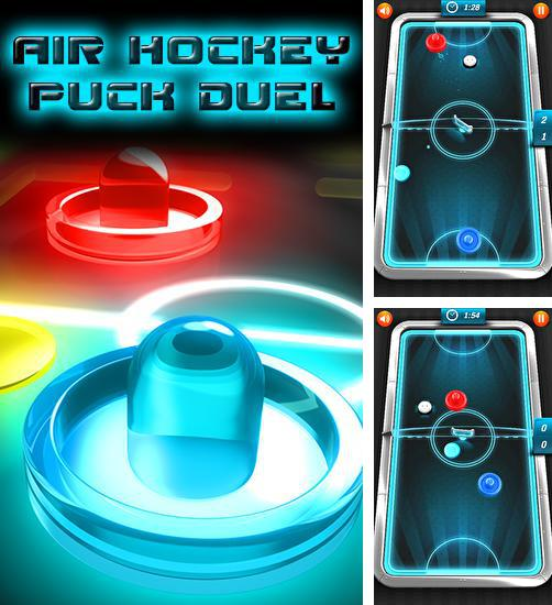 In addition to the game Glow Hockey 3D for Android phones and tablets, you can also download Air hockey: Puck duel for free.