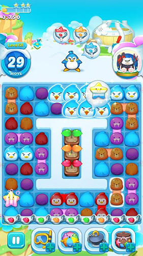 Screenshots von Air penguin puzzle für Android-Tablet, Smartphone.