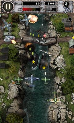 Screenshots von AirAttack HD für Android-Tablet, Smartphone.