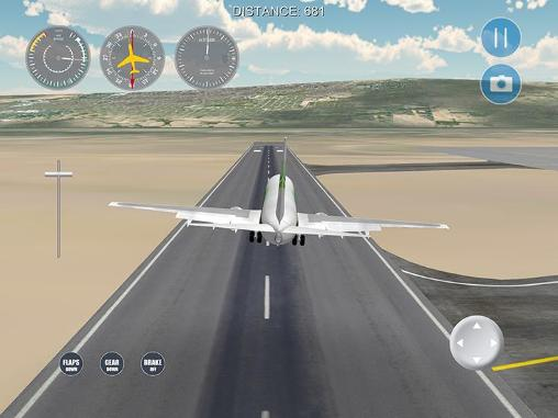 Screenshots do Airplane! 2: Flight simulator - Perigoso para tablet e celular Android.