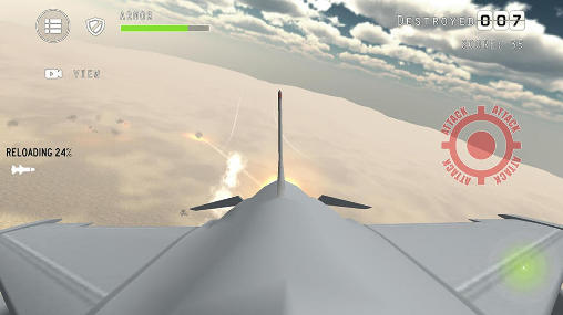 Capturas de pantalla de Airplane fighters combat para tabletas y teléfonos Android.