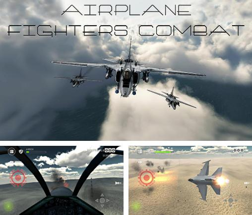 Airplane fighters combat