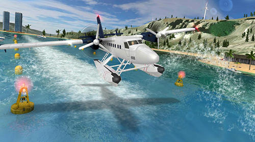 Airplane flight pilot simulator screenshot 1