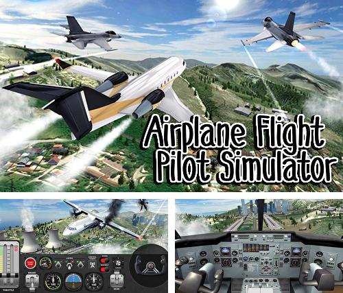 Airplane flight pilot simulator