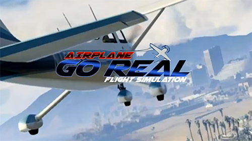 Airplane go: Real flight simulation обложка