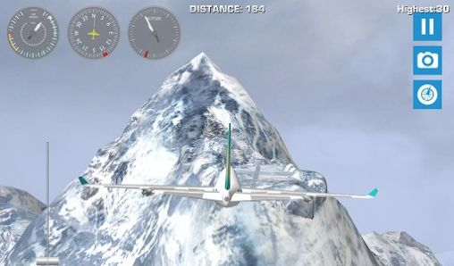Capturas de pantalla de Airplane mount Everest para tabletas y teléfonos Android.