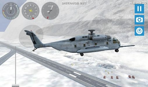Геймплей Airplane mount Everest для Android телефону.