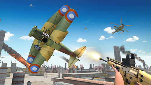 Airplane shooter 3D screenshot 2