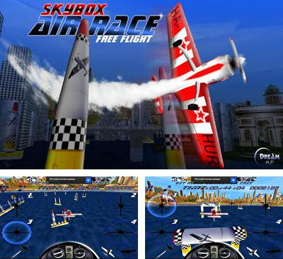 In addition to the game Roller Rally - Snake Pass for Android phones and tablets, you can also download AirRace SkyBox for free.