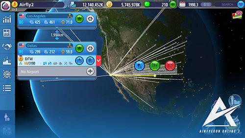 Screenshots von Airtycoon online 3 für Android-Tablet, Smartphone.