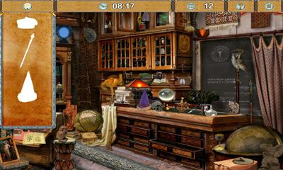 Screenshots of the Magic Academy for Android tablet, phone.
