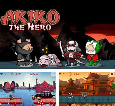 In addition to the game Zombie Ace for Android phones and tablets, you can also download Akiko the Hero for free.
