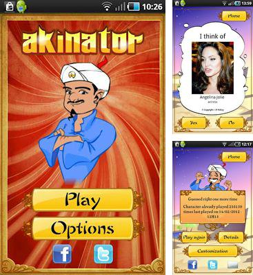 In addition to the game Draw a Stickman EPIC for Android phones and tablets, you can also download Akinator the Genie for free.