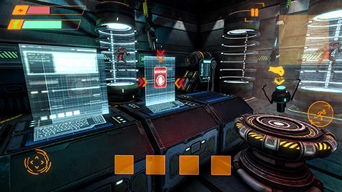 Screenshots von Alien attack: Spaceship escape für Android-Tablet, Smartphone.
