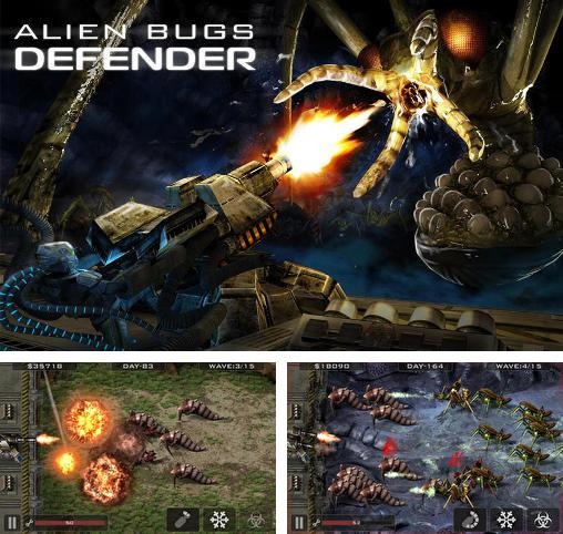 In addition to the game Alien Invade for Android phones and tablets, you can also download Alien bugs defender for free.