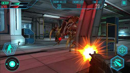 Screenshots von Alien space shooter 3D für Android-Tablet, Smartphone.