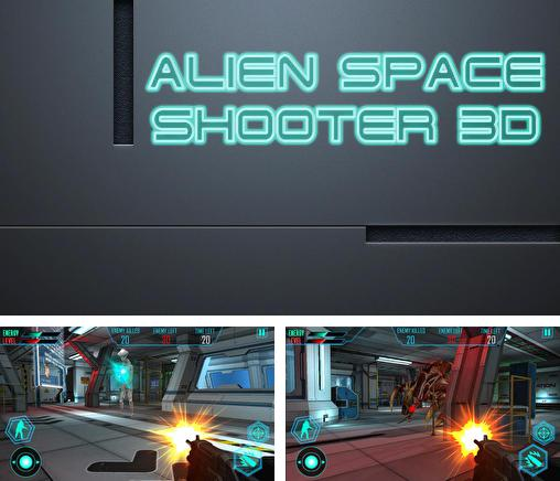 In addition to the game Alien Invade for Android phones and tablets, you can also download Alien space shooter 3D for free.