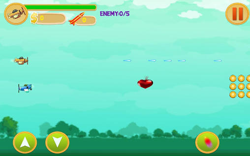 Alien spaceship war: Aircraft fighter screenshot 2