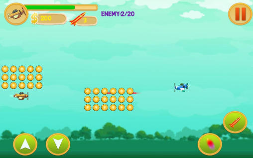 Alien spaceship war: Aircraft fighter screenshot 3