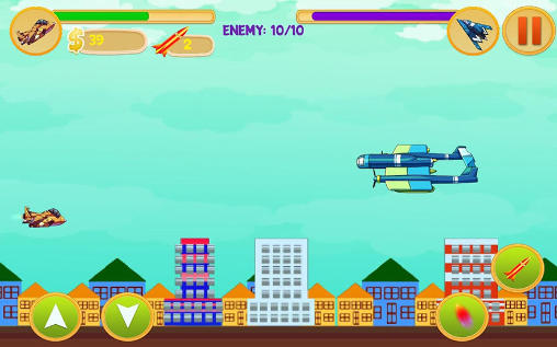 Alien spaceship war: Aircraft fighter screenshot 4