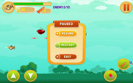 Alien spaceship war: Aircraft fighter screenshot 5