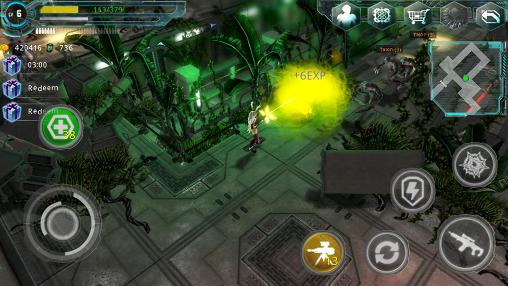 Screenshots von Alien zone plus für Android-Tablet, Smartphone.