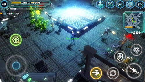 Screenshots do Alien zone raid - Perigoso para tablet e celular Android.
