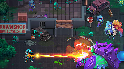 玩安卓版Aliens agent: Star battlelands。免费下载游戏。