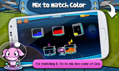 Screenshots of the Aliens Goo for Android tablet, phone.