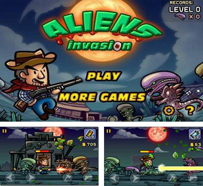 In addition to the game Zombie Terminator for Android phones and tablets, you can also download Aliens Invasion for free.