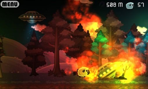 Aliens vs sheep screenshot 2