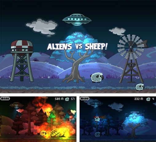 In addition to the game Spartacus vs. zombies for Android phones and tablets, you can also download Aliens vs sheep for free.