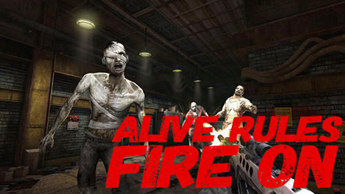 Alive rules: Fire on обложка