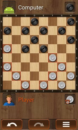 Kostenloses Android-Game Alles in Einem: Dame. Vollversion der Android-apk-App Hirschjäger: Die All-in-one checkers für Tablets und Telefone.