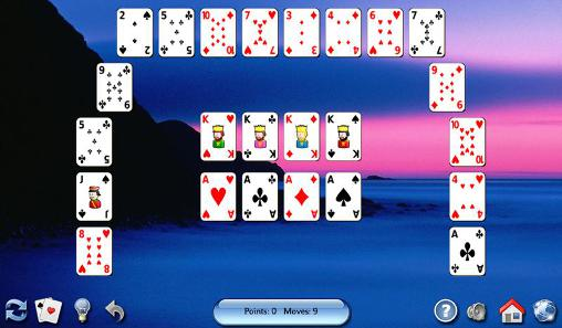 Capturas de pantalla de All-in-one solitaire para tabletas y teléfonos Android.