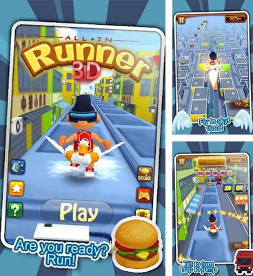 In addition to the game Builders War for Android phones and tablets, you can also download All In. Runner 3D for free.