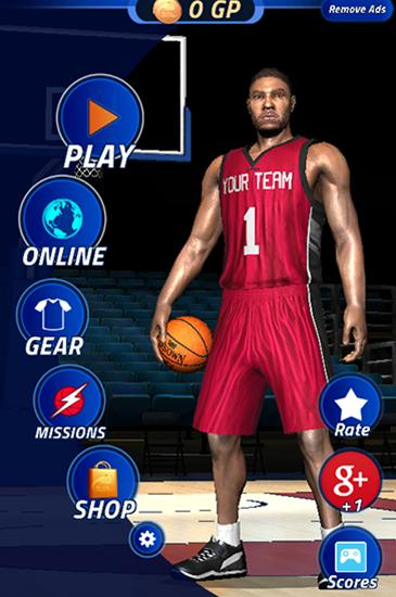 All-star basketball screenshot 1
