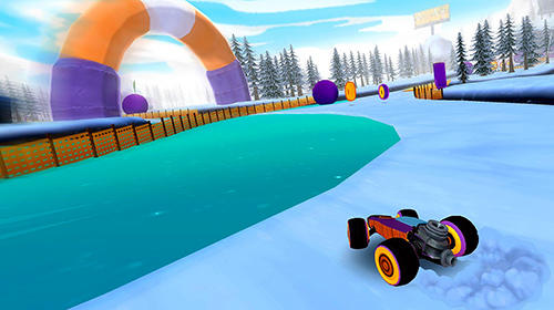 Screenshots of the All-star fruit racing VR for Android tablet, phone.