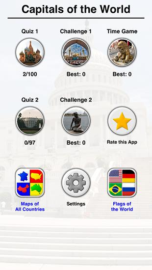 All world capitals: City quiz screenshot 1
