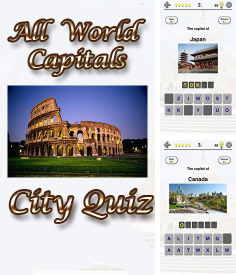 In addition to the game Logos quiz for Android phones and tablets, you can also download All world capitals: City quiz for free.