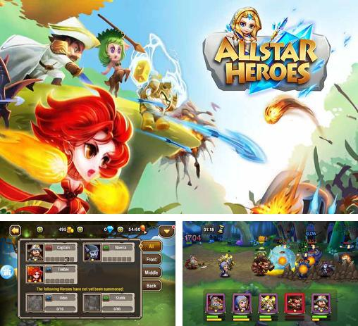 In addition to the game Tank battles for Android phones and tablets, you can also download Allstar heroes for free.