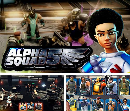 Alpha squad 5: RPG and PvP online battle arena