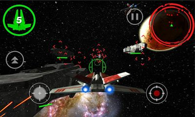 Screenshots von Alpha Squadron für Android-Tablet, Smartphone.