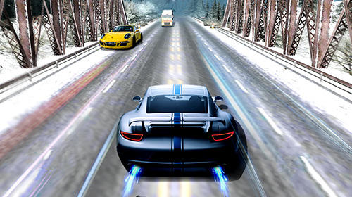 Alpha traffic racer screenshot 1