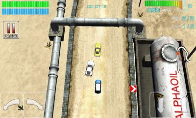 Screenshots do Alpha Wheels Racing - Perigoso para tablet e celular Android.